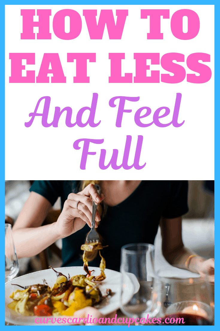 Tips on how to eat less and not be hungry. You can eat less and feel full while losing weight to get a flat belly! Find out how to not be hungry all the time without eating extra food. How to stop hunger pains and hunger pangs while on keto or any other diet plan.