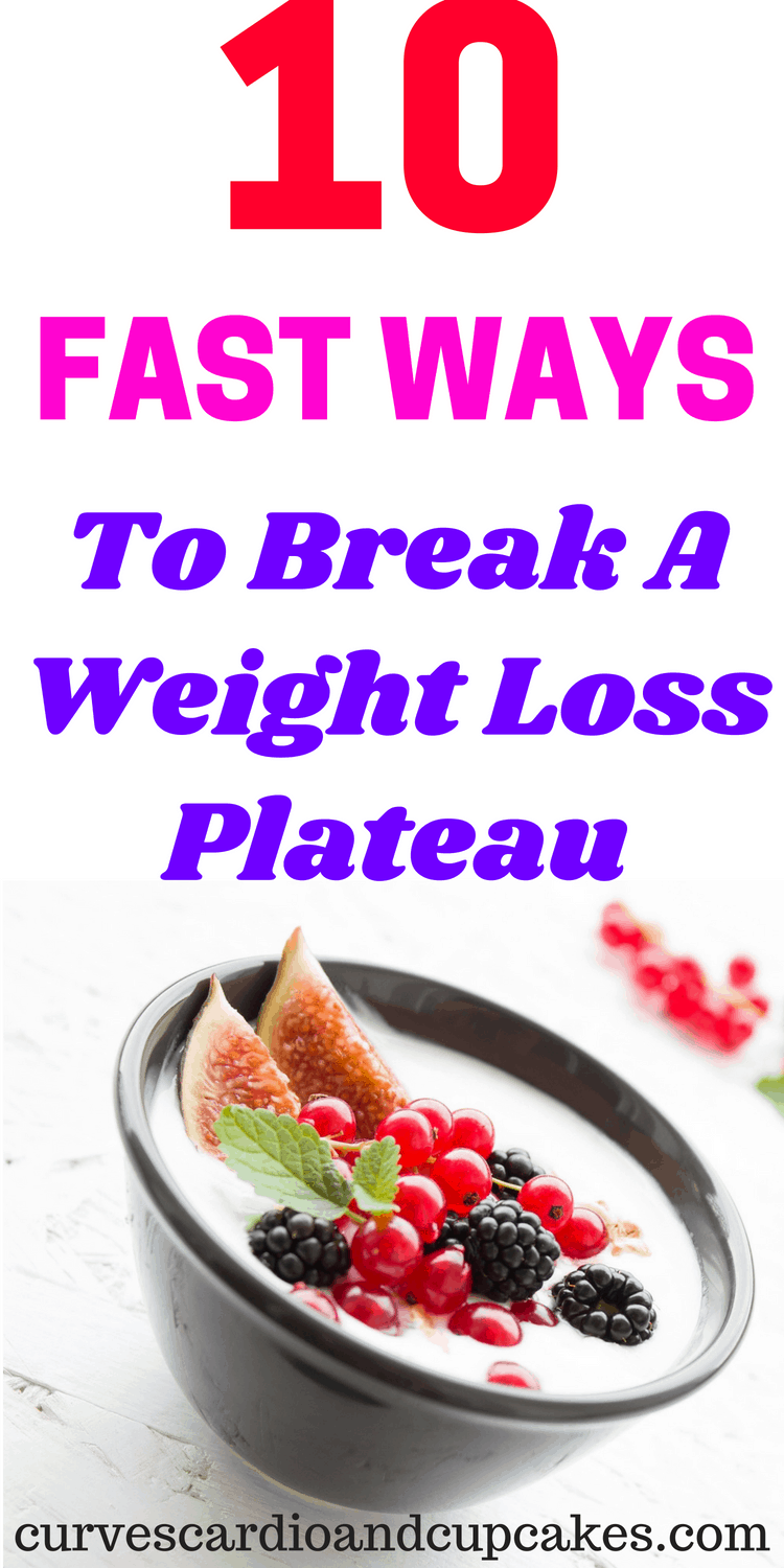 If you've reached a weight loss stall, you don't want to miss these tips and tricks to break the plateau. Whether you exercise or not, these ideas are healthy ways you can get the motivation to take control and use a plateau breaker.
