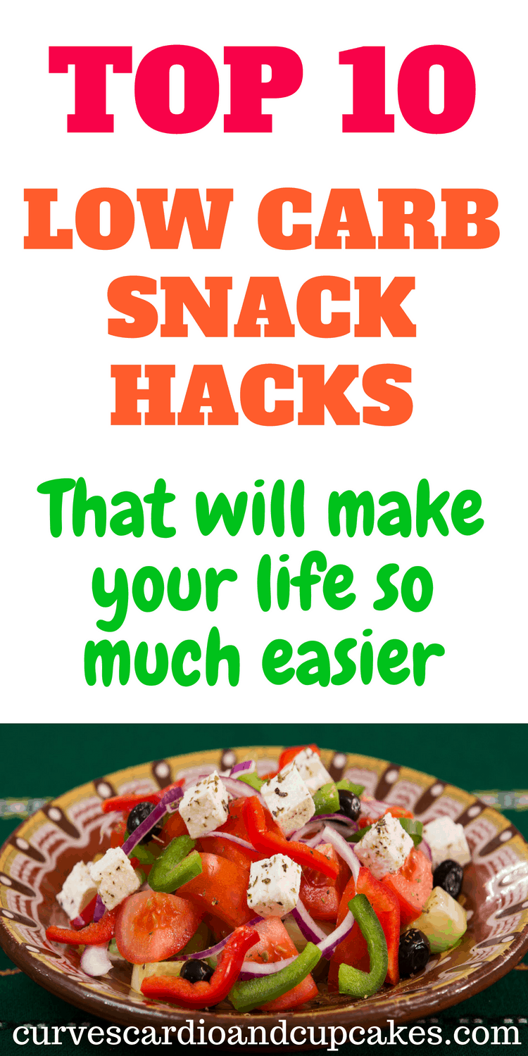 Easy on the go low carb snack ideas for weight loss when following a low carbohydrate or keto diet.  List and easy prep ideas to make life easier and healthy.