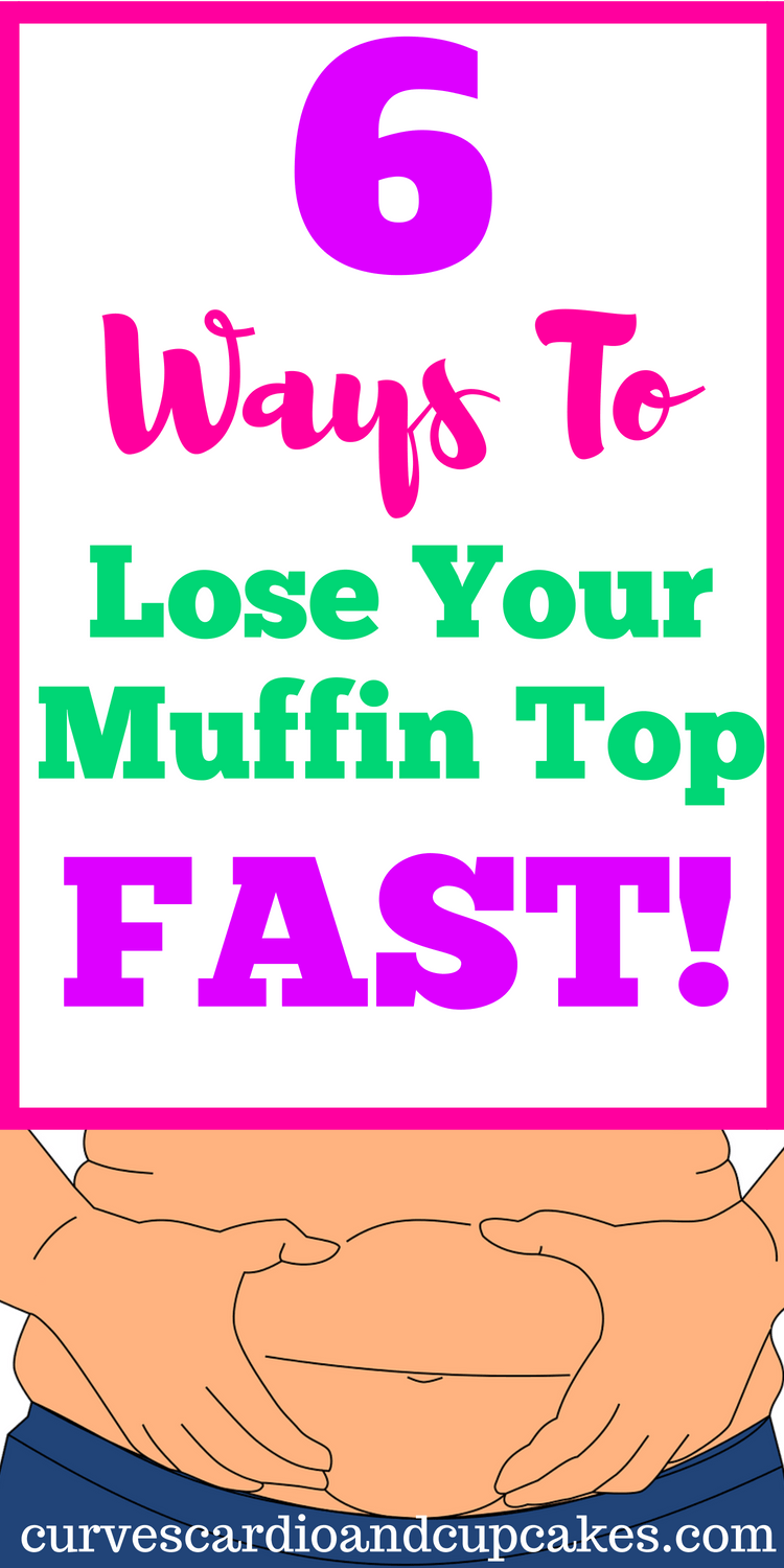 Get rid of your muffin top for good with these 6 tips to melt away the belly fat from your waist!  You won't need to hide your fat roll after your transformation with these fat burner hacks.  Bye bye muffin top!
